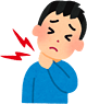 腰痛、肩こり、首の痛み 頭痛(筋緊張性)、ぎっくり腰